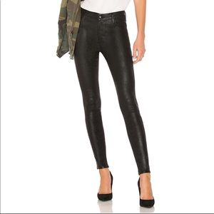 Maria High Rise Coated Skinny